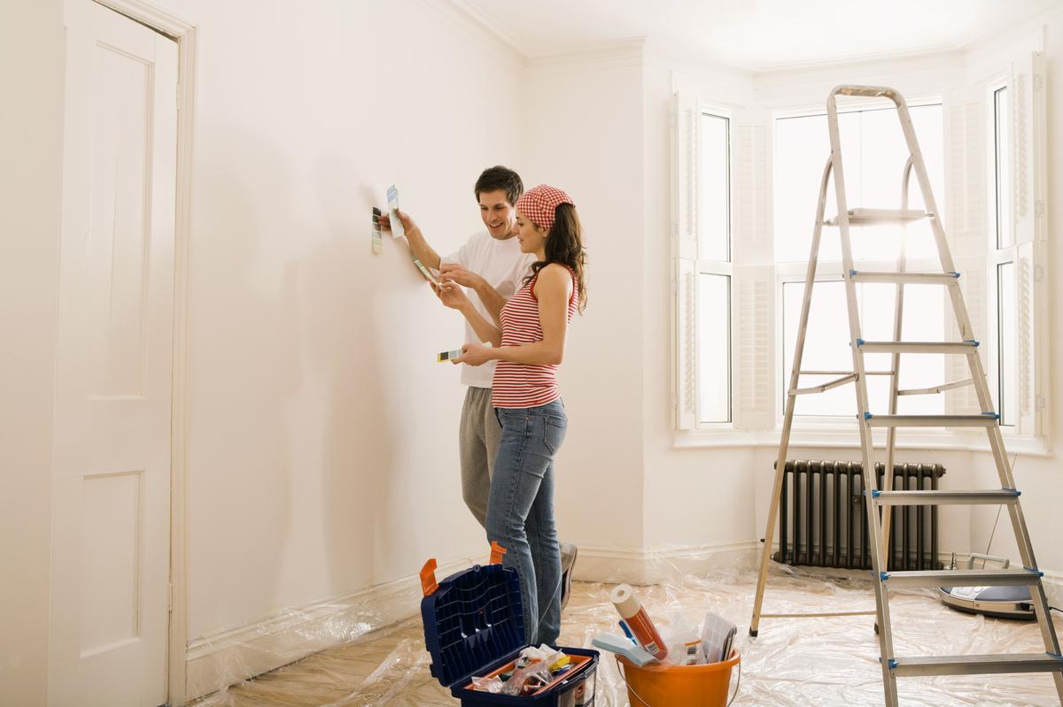 Как сделать косметический ремонт дома самому